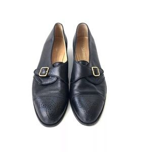 Gucci Black Loafers Vintage Size 7